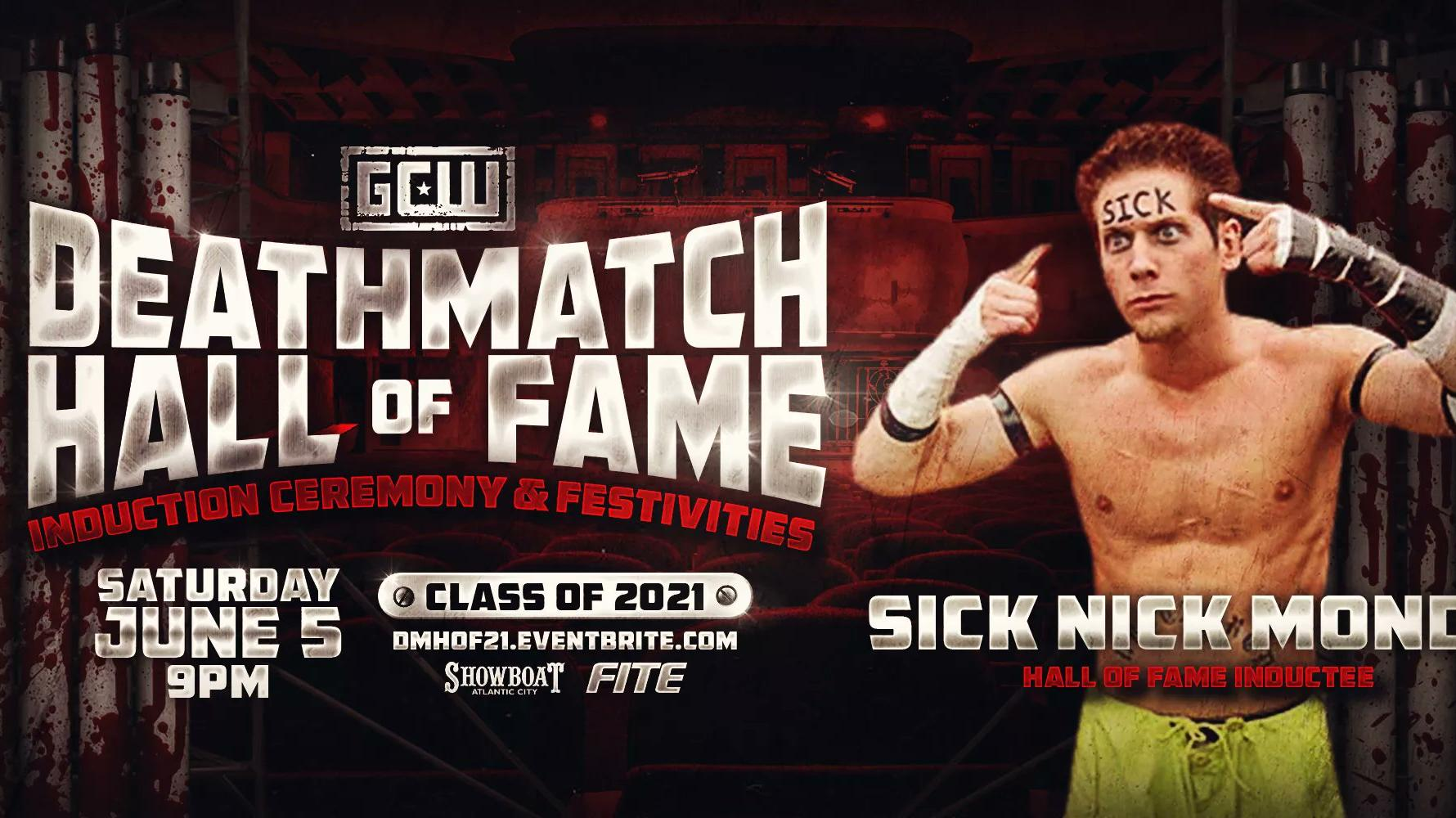 'Sick' Nick Mondo To Be Inducted Into GCW Deathmatch Hall Of Fame