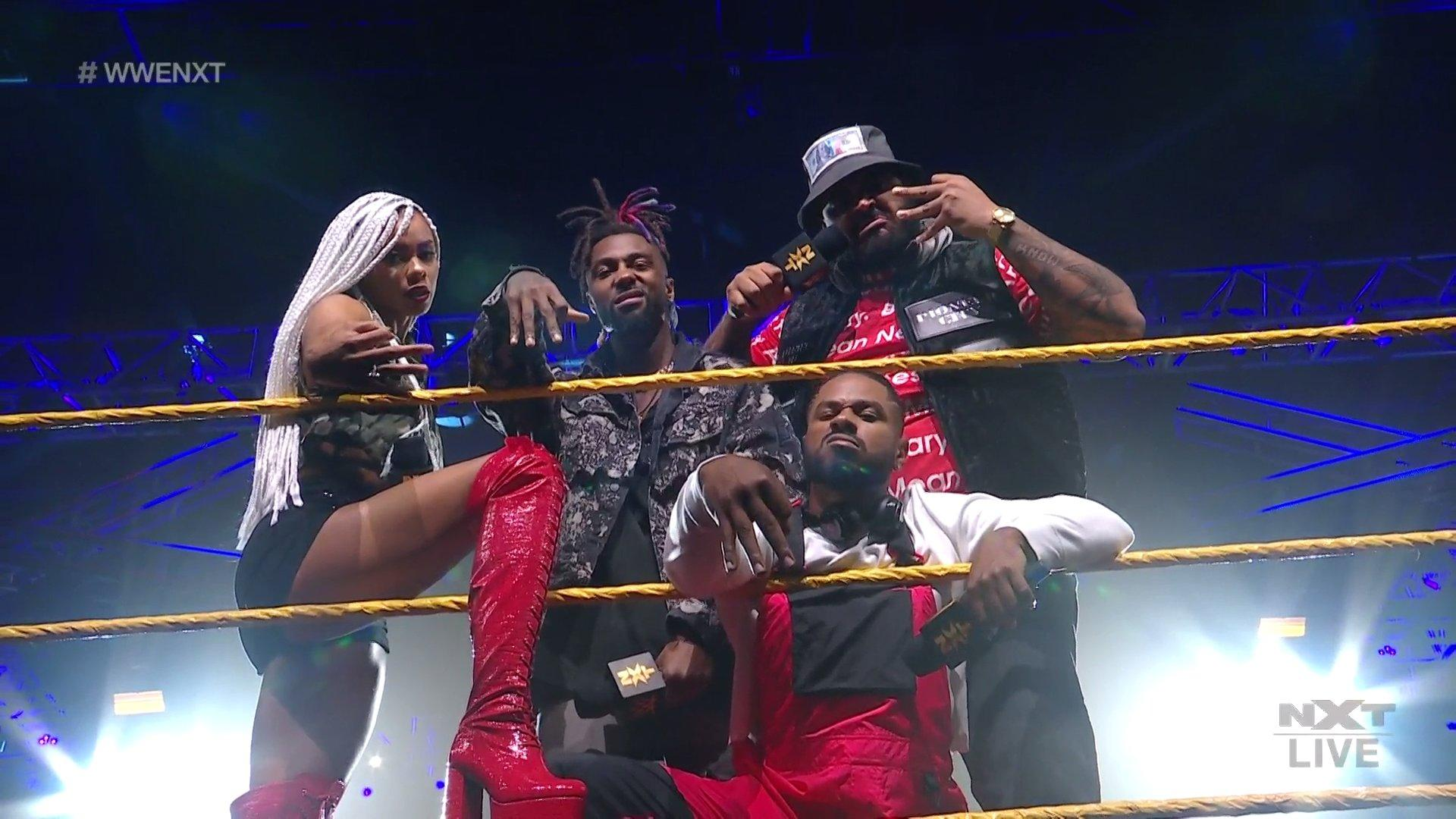 Isaiah 'Swerve' Scott Officially Introduces Hit Row On WWE NXT